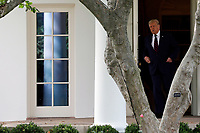United States President Donald J. Trump walks out from the Oval Office of the White House in Washington before his departure to Philadelphia on September 15, 2020.<br /> Credit: Yuri Gripas / Pool via CNP /MediaPunch