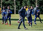 15.03.2019 Rangers training: Steven Gerrard