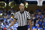 04 November 2016: Official Bert Smith. The Duke University Blue Devils hosted the Augustana University Vikings at Cameron Indoor Stadium in Durham, North Carolina in a 2016-17 NCAA Division I Men's Basketball exhibition game.