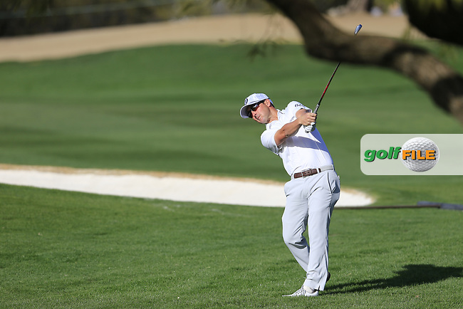 Andrew Landry (USA) during the 1st round of the Waste Management Phoenix Open, TPC Scottsdale, Scottsdale, Arisona, USA. 31/01/2019.<br /> Picture Fran Caffrey / Golffile.ie<br /> <br /> All photo usage must carry mandatory copyright credit (&copy; Golffile | Fran Caffrey)
