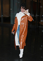 NEW YORK, NY - JANUARY 12: Camila Cabello seen leaving SiriusXM studio while promoting her new album in New York City on January 12, 2018. <br /> CAP/MPI/RW<br /> &copy;RW/MPI/Capital Pictures