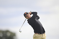 Victor Pastor of Team Spain on the 3rd tee during Round 3 of the WATC 2018 - Eisenhower Trophy at Carton House, Maynooth, Co. Kildare on Friday 7th September 2018.<br /> Picture:  Thos Caffrey / www.golffile.ie<br /> <br /> All photo usage must carry mandatory copyright credit (&copy; Golffile | Thos Caffrey)