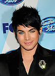 Adam Lambert at the 2009 American Idol Finale at the Nokia Theatre in Los Angeles, May 20th 2009..Photo by Chris Walter/Photofeatures