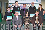 STUDENTS: The students of Gaelcholaiste Chiarrai at the Kerry Education Student Awards at IT Tralee on Friday..