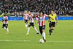 Junior igualó 2-2 ante América (2-2 en el global y 2-4 en los penales). Cuartos de final vuelta Liga Águila II-2017.
