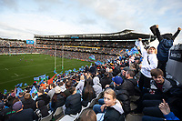 14th June 2020, Aukland, New Zealand;  Blues fans during the Investec Super Rugby Aotearoa match, between the Blues and Hurricanes held at Eden Park, Auckland, New Zealand.