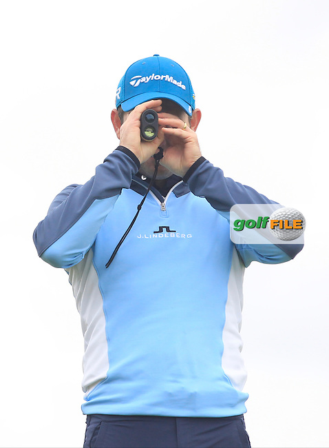 Peter Kirby (Dun Laoghaire) on the 11th tee during Round 3 of the Irish Mid-Amateur Open Championship at New Forest on Sunday 21st June 2015.<br /> Picture:  Thos Caffrey / www.golffile.ie