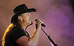 Trace Adkins on the WDRM stage.  Big Spring Jam.  Bob Gathany photo.