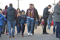 West Ham Fans during West Ham United vs Burnley, Premier League Football at The London Stadium on 3rd November 2018