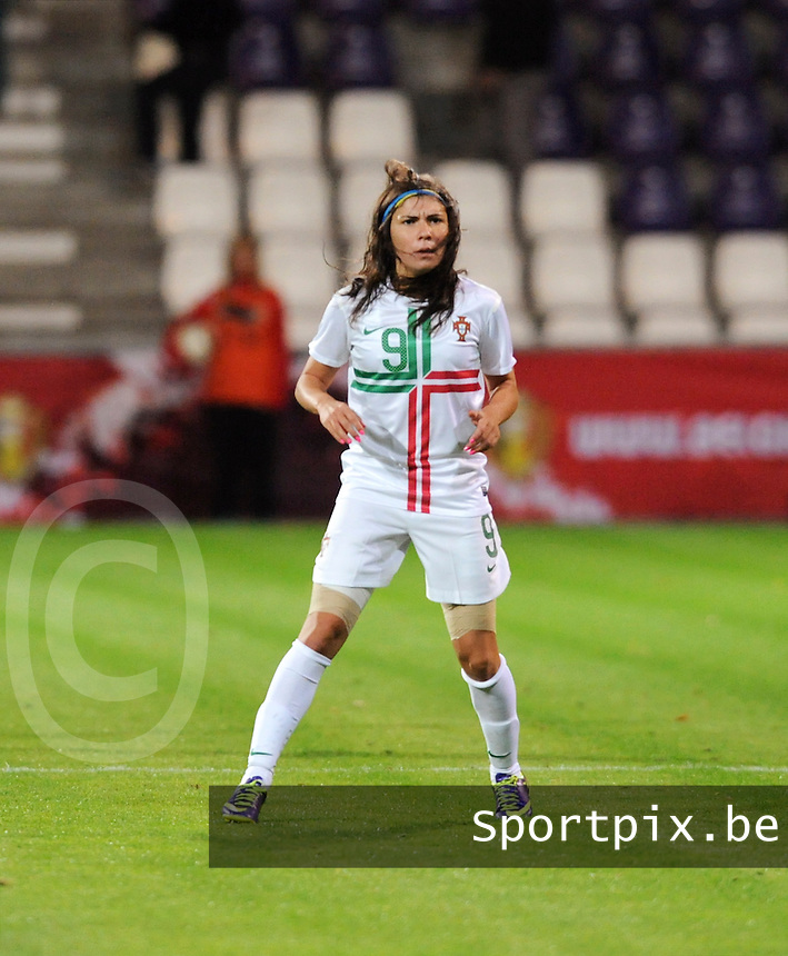 Belgian Red Flames - Portugal (31/10/2013) :<br /> Ana Borges<br /> foto Dirk Vuylsteke / Nikonpro.be