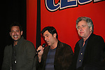All My Children's Ricky Paull Goldin & Vincent Irizarry & Michael E. Knight came to see fans on November 21, 2009 at Uncle Vinnie's Comedy Club at The Lane Theatre in Staten Island, NY for a VIP Meet and Greet for photos, autographs and a Q & A on stage. (Photo by Sue Coflikn/Max Photos)