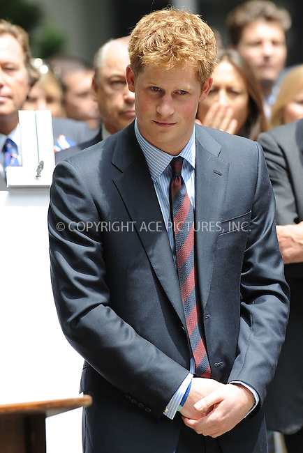 WWW.ACEPIXS.COM . . . . . ....May 29 2009, New York City....HRH Prince Harry participates in the official naming of the new British Gardens on May 29, 2009 in New York.....Please byline: KRISTIN CALLAHAN - ACEPIXS.COM.. . . . . . ..Ace Pictures, Inc:  ..(212) 243-8787 or (646) 679 0430..e-mail: picturedesk@acepixs.com..web: http://www.acepixs.com