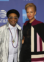 3 January 2019 - Palm Springs, California - Spike Lee, Tonya Lewis Lee. 30th Annual Palm Springs International Film Festival Film Awards Gala held at Palm Springs Convention Center.            <br /> CAP/ADM/FS<br /> &copy;FS/ADM/Capital Pictures