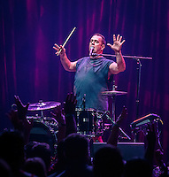 LAS VEGAS, NV - July 29, 2016: ***HOUSE COVERAGE*** Cowboy Mouth performs at Brooklyn Bowl at The Linq in Las vegas, NV on July 29, 2016. Credit: Erik Kabik Photography/ MediaPunch