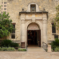 The Alamo Museum was built in 1936. On exhibit - The Evolution of the Bowie Knife, and Alamo Archaeology.