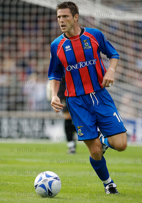 Richard Hastings, Inverness Caledonian Thistle.stock season 2006-2007.pic willie vass