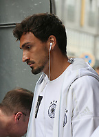 Mats Hummels (Deutschland Germany) - *cs*31.08.2017: Teamankunft Deutschland in Prag, Marriott Hotel