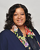 Michaelle Solages, Democratic incumbent candidate for New York State Assembly 22nd District, poses for a portrait at her office in Valley Stream on Monday, July 18, 2016 -- slVOTE --