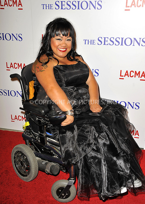 WWW.ACEPIXS.COM......October 10, 2012, Los Angeles, CA.....Jennifer Kumiyama arriving at the premiere of 'The Sessions' at Bing Theatre At LACMA on October 10, 2012 in Los Angeles, California.....By Line: Peter West/ACE Pictures....ACE Pictures, Inc..Tel: 646 769 0430..Email: info@acepixs.com