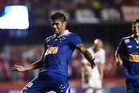 SAO PAULO SP, 20 Julho 2013 - Sao Paulo  X Cruzeiro -  Luan do Cruzeiro comemora terceiro gol durante partida contra o Cruzeiro valida pelo campeonato brasileiro de 2013  no Estadio do Morumbi em  Sao Paulo, neste sabado, 20. (FOTO: ALAN MORICI / BRAZIL PHOTO PRESS).