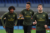 2019 Europa League Football Arsenal Press Conference and Training Session Ap17th
