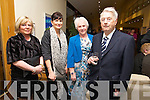 Mary Browne, Kelly Browne, Irene Higgins, Thomas Higgins enjoying the Irish Coursing Club Awards Dinner Dance at the Ballyroe Heights Hotel on Saturday