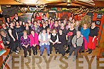 The Glen Group enjoyed a well deserved break on Saturday night last for Womens Christmas as 60 ladies took the opportunity to be waited on by the staff at The Moorings Restaurant in Portmagee.