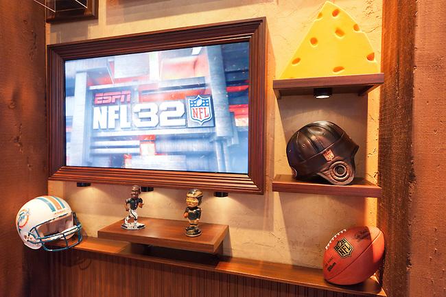 September  08, 2011 - Bristol, CT - Studio E:  New NFL 32 Set..Credit: Joe Faraoni/ESPN