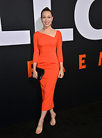 LOS ANGELES, CA. October 17, 2018: Rhian Rees at the premiere for &quot;Halloween&quot; at the TCL Chinese Theatre.<br /> Picture: Paul Smith/Featureflash