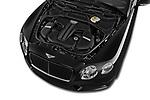 Car stock 2015 Bentley Continental GTC  Base 2 Door Convertible engine high angle detail view