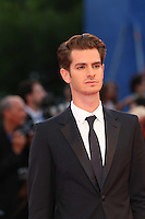 VENICE, ITALY - SEPTEMBER 04: Andrew Garfield attends the premiere of 'Hacksaw Ridge' during the 73rd Venice Film Festival at Sala Grande on September 4, 2016 in Venice, Italy.<br /> CAP/GOL<br /> &copy;GOL/Capital Pictures /MediaPunch ***NORTH AND SOUTH AMERICAS ONLY***