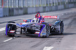 Alex Lynn of Great Britain from DS Virgin Racing competes in the Formula E Non-Qualifying Practice 2 during the FIA Formula E Hong Kong E-Prix Round 1  at the Central Harbourfront Circuit on 02 December 2017 in Hong Kong, Hong Kong. Photo by Marcio Rodrigo Machado / Power Sport Images
