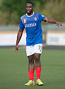 Cowdenbeath's two goal hero Kudus Oyenuga.