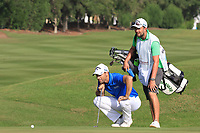Oliver Wilson (ENG) during round 2, Ras Al Khaimah Challenge Tour Grand Final played at Al Hamra Golf Club, Ras Al Khaimah, UAE. 01/11/2018<br /> Picture: Golffile | Phil Inglis<br /> <br /> All photo usage must carry mandatory copyright credit (&copy; Golffile | Phil Inglis)
