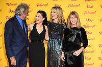 LONDON, UK. October 16, 2018: David Dickinson, Laura Tobin, Charlotte Hawkins &amp; Kate Garaway arriving for the &quot;ITV Palooza!&quot; at the Royal Festival Hall, London.<br /> Picture: Steve Vas/Featureflash