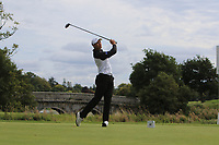 Denzel Ieremia of Team New Zealand on the 1st during Round 3 of the WATC 2018 - Eisenhower Trophy at Carton House, Maynooth, Co. Kildare on Friday 7th September 2018.<br /> Picture:  Thos Caffrey / www.golffile.ie<br /> <br /> All photo usage must carry mandatory copyright credit (&copy; Golffile | Thos Caffrey)