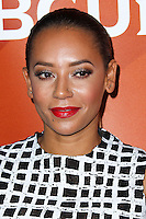 PASADENA, CA, USA - APRIL 08: Mel B, Melanie Brown at the NBCUniversal Summer Press Day 2014 held at The Langham Huntington Hotel and Spa on April 8, 2014 in Pasadena, California, United States. (Photo by Xavier Collin/Celebrity Monitor)