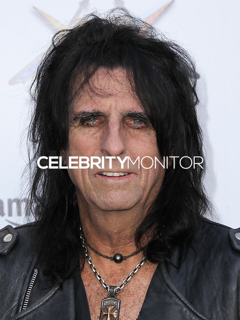 LOS ANGELES, CA, USA - APRIL 23: Alice Cooper at the 2014 Revolver Golden Gods Award Show held at Club Nokia on April 23, 2014 in Los Angeles, California, United States. (Photo by Xavier Collin/Celebrity Monitor)