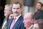 King Felipe VI of Spain attends to National Sport Awards 2016 at El Pardo Palace in Madrid , Spain. February 19, 2018. (ALTERPHOTOS/Borja B.Hojas)