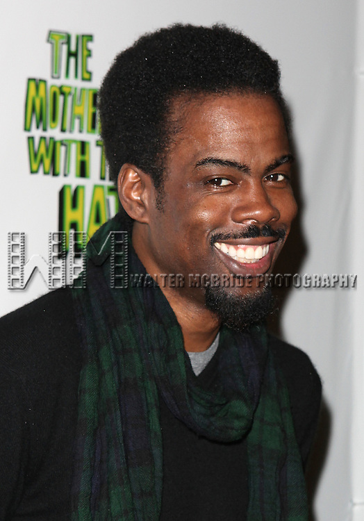 Chris Rock.attending the Broadway Opening Night Performance After Party for 'The Mother F**ker with the Hat'  in New York City.