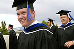 Photo by Annie Jones/BYU 0508-28 August Commencement..Summer Commencement, Processional, Graduates with families...Photo by Annie Jones/BYU..Copyright BYU Photo 2005.All Rights Reserved.photo@byu.edu  (801)422-7322