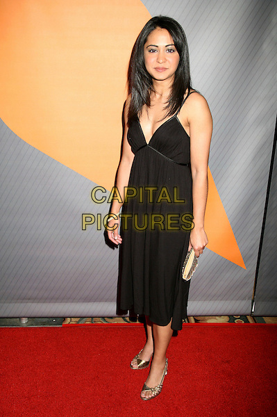 PARMINDER NAGRA.NBC's 2006 Winter Press Tour All-Star Party at the Ritz Carlton Hotel, Pasadena, California, USA..January 17th, 2007.full length black dress.CAP/ADM/BP.©Byron Purvis/AdMedia/Capital Pictures