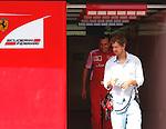 FORMULA 1 Test ABU DHABI Sebastian Vettel 24.11.14