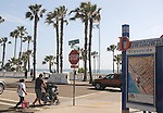 View of the entrance to the Oceanside Pier in Oceanside, CA on Wednesday, April 27, 2016. Photo by Jim Peppler. Copyright Jim Peppler  2016.