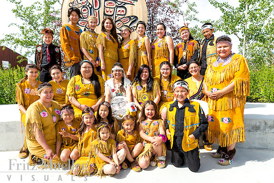 Adaka Cultural Festival 2016, Whitehorse, Yukon, Canada, Yukon First Nation Culture and Tourism Association, Kwanlin Dun Cultural Centre, Selkirk Dancers