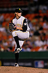5 June 2007: Pittsburgh Pirates pitcher Jonah Bayliss in action against the Washington Nationals at RFK Stadium in Washington, DC. The Pirates defeated the Nationals 7-6, in the first game of their 3-game series...Mandatory Credit: Ed Wolfstein Photo