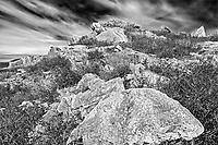 Rocky coastline of the Atlantic Ocean, Isle Aux Morts, Newfoundland & Labrador, Canada