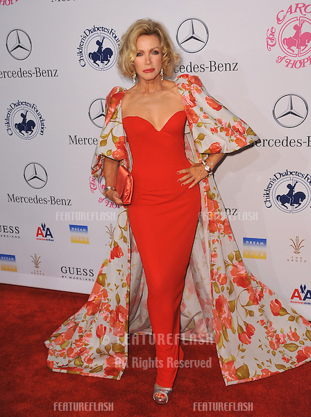 Donna Mills at the 26th Carousel of Hope Gala at the Beverly Hilton Hotel..October 20, 2012  Beverly Hills, CA.Picture: Paul Smith / Featureflash