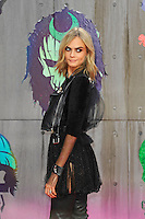 LONDON, ENGLAND - AUGUST 3: Cara Delevingne attending the 'Suicide Squad' European Premiere at Odeon Cinema, Leicester Square on August 3, 2016 in London, England.<br /> CAP/MAR<br /> &copy;MAR/Capital Pictures /MediaPunch ***NORTH AND SOUTH AMERICAS ONLY***