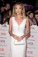Megan McKenna<br /> arriving for the National TV Awards 2019 at the O2 Arena, London<br /> <br /> ©Ash Knotek  D3473  22/01/2019